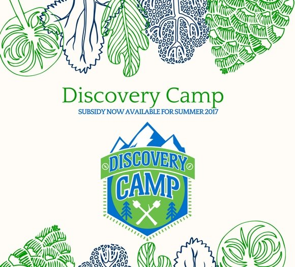 Discovery Camp Subsidy Available