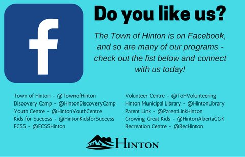 Hinton Facebook Page