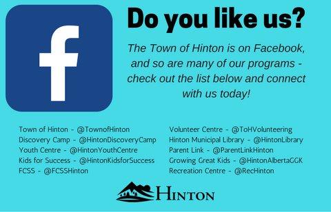 Hinton Facebook Page