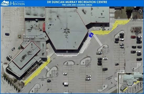 Rec Centre Map
