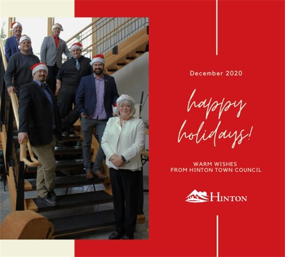 Happy Holidays - Warm Wishes from Hinton Town Council