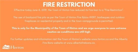 Restriction information