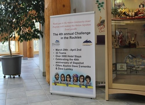 Challenge in the Rockies Banner in ToH Lobby