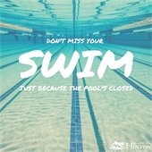 Dont miss your swim