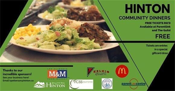 Community Dinners Banner