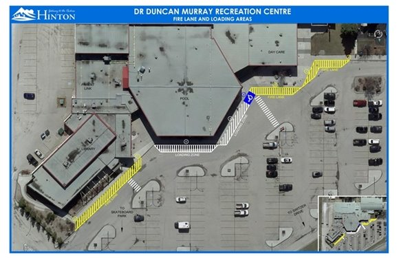 Map of Rec Centre Lot