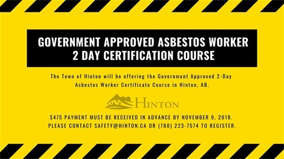 Asbestos Course Banner