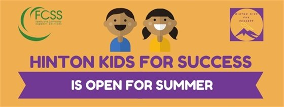 Hinton Kids for Success is Open for Summer!