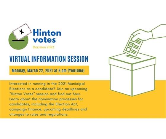 Hinton Votes: Virtual Information Session