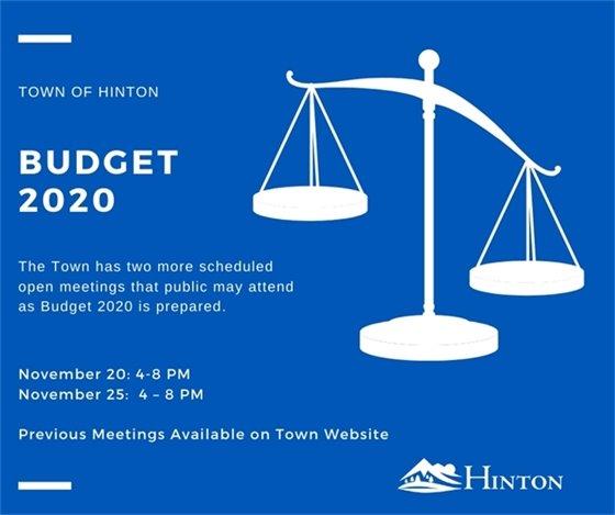 Budget 2020 meetings