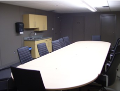 Recreation Centre meeting room with table and chairs