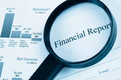 Image of a Financial Report