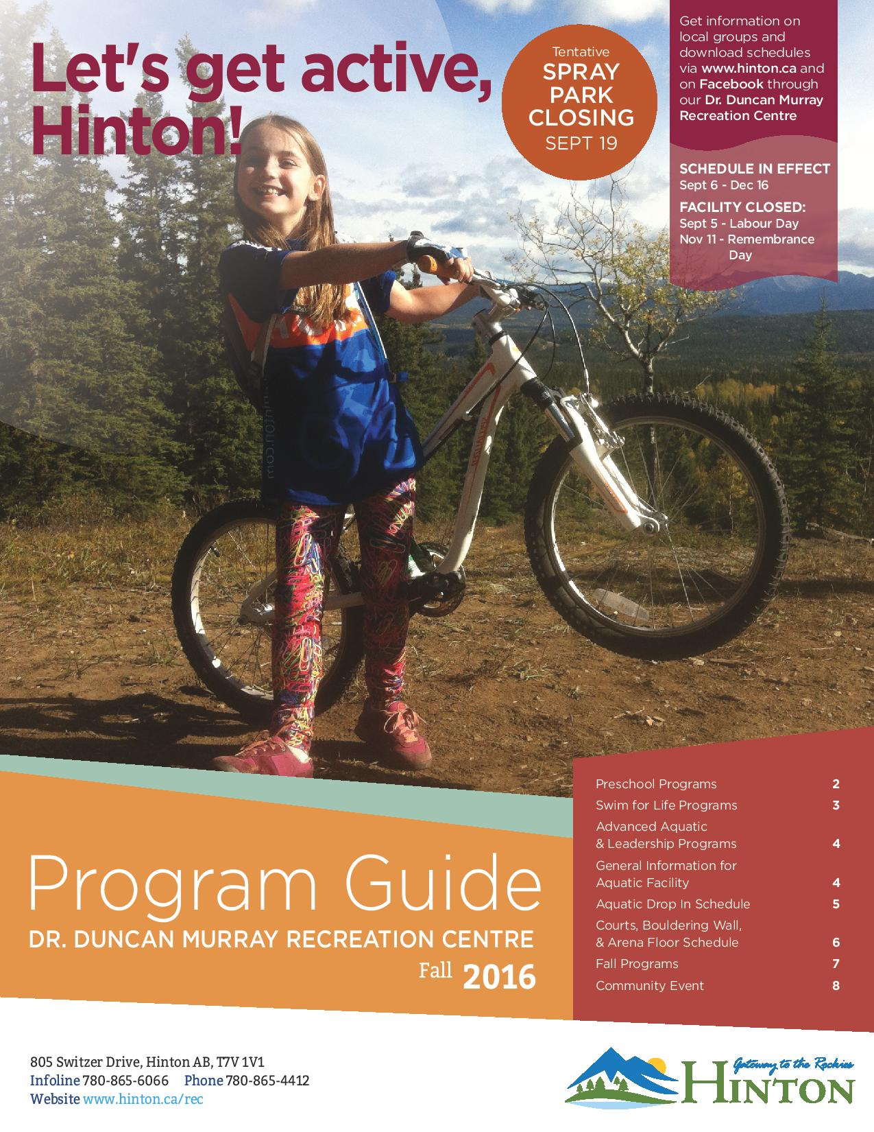 Fall Guide Front Page