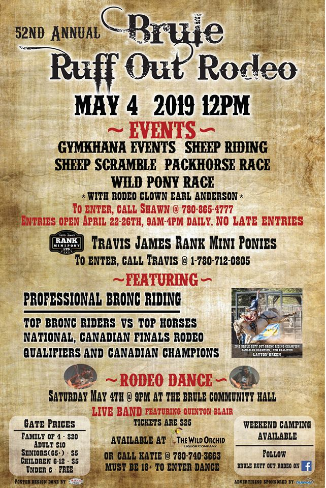 2019 Brule Ruff Out Rodeo