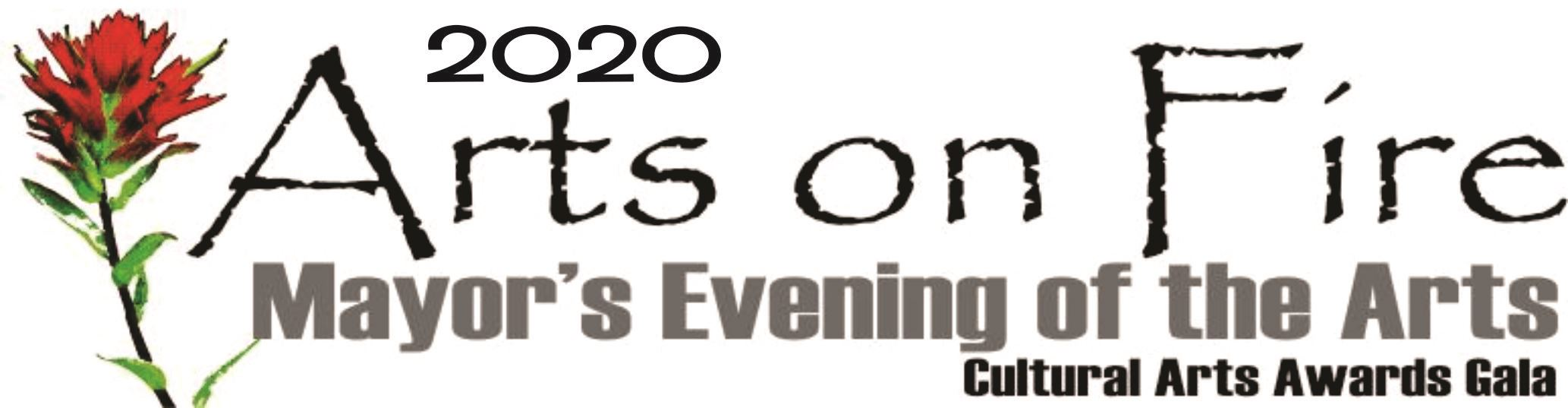 2020 Arts on Fire - banner