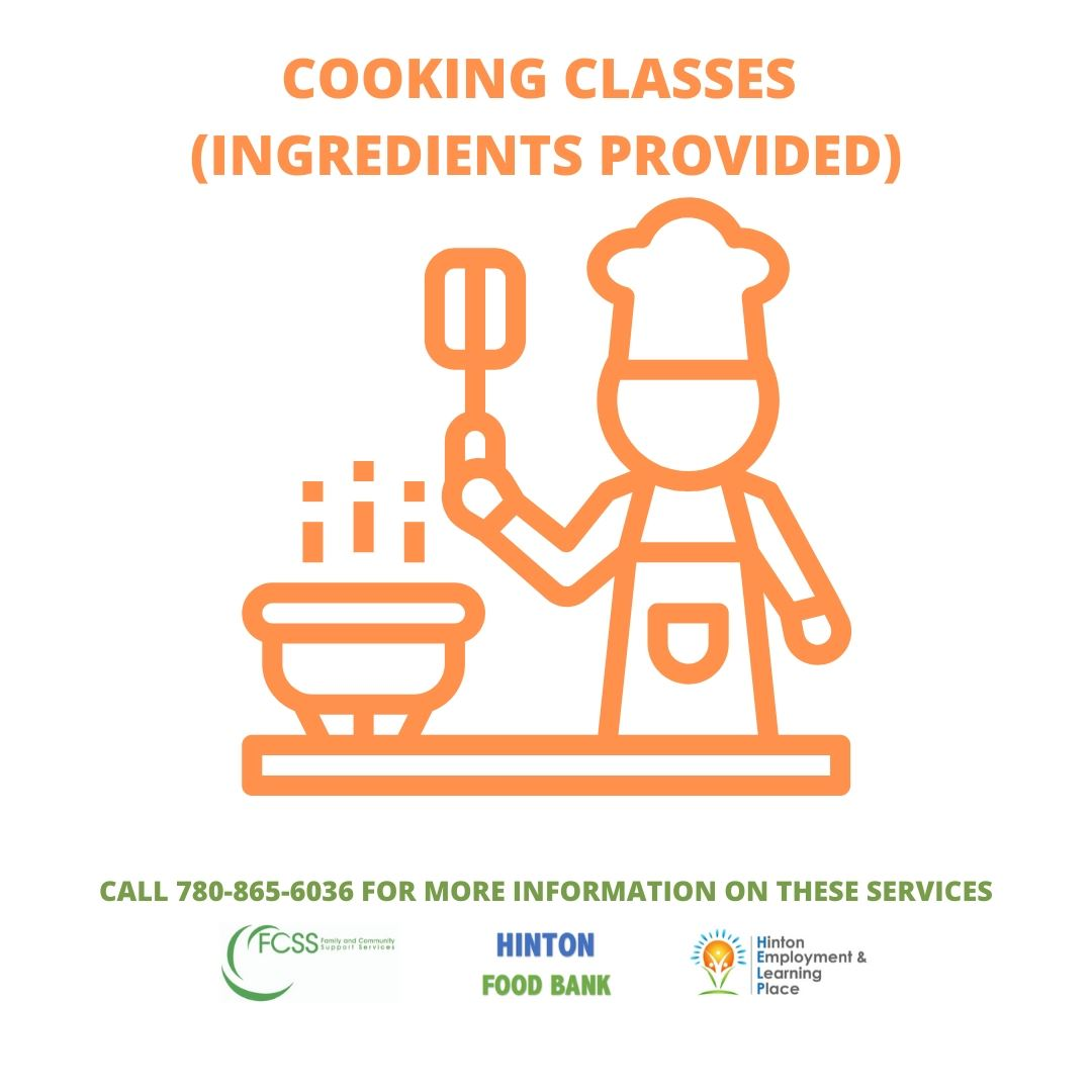 COOKING CLASSES  (INGREDIENTS PROVIDED)