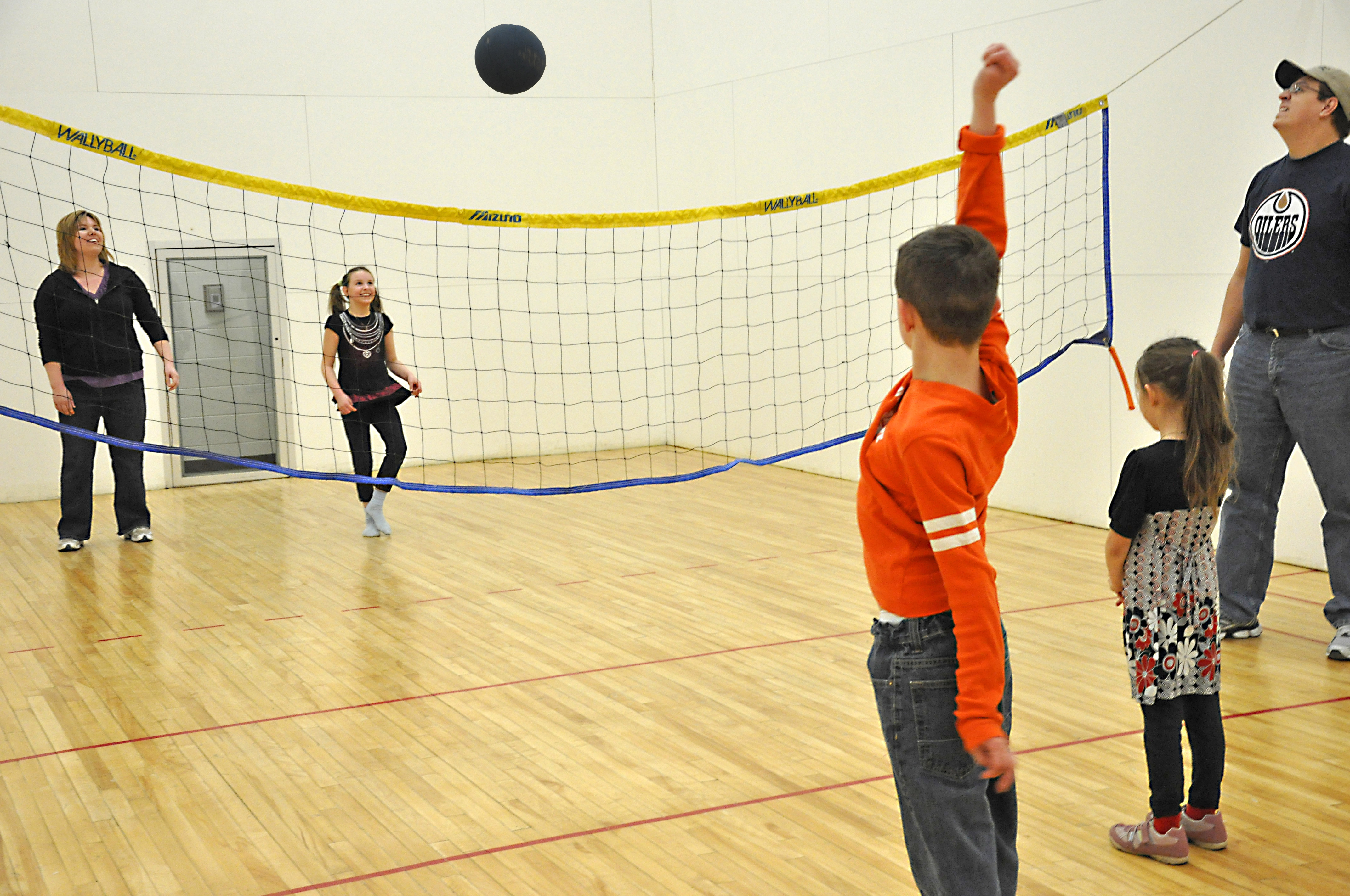 Dr Duncan Murray Recreation Centre Courts Wallyball