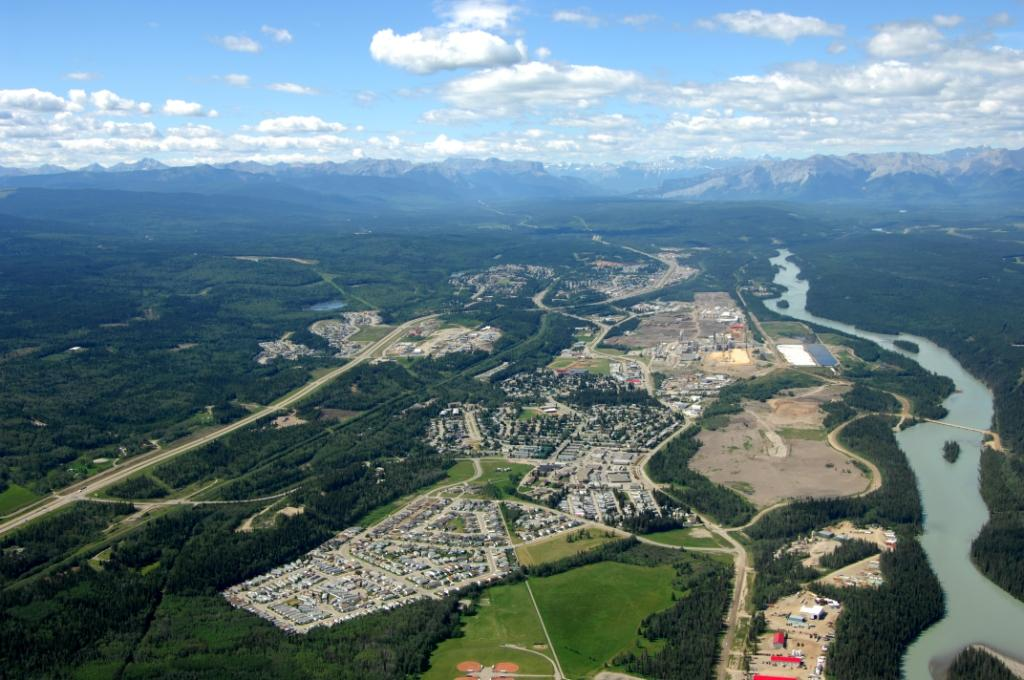 Photo of Hinton - Aerial View