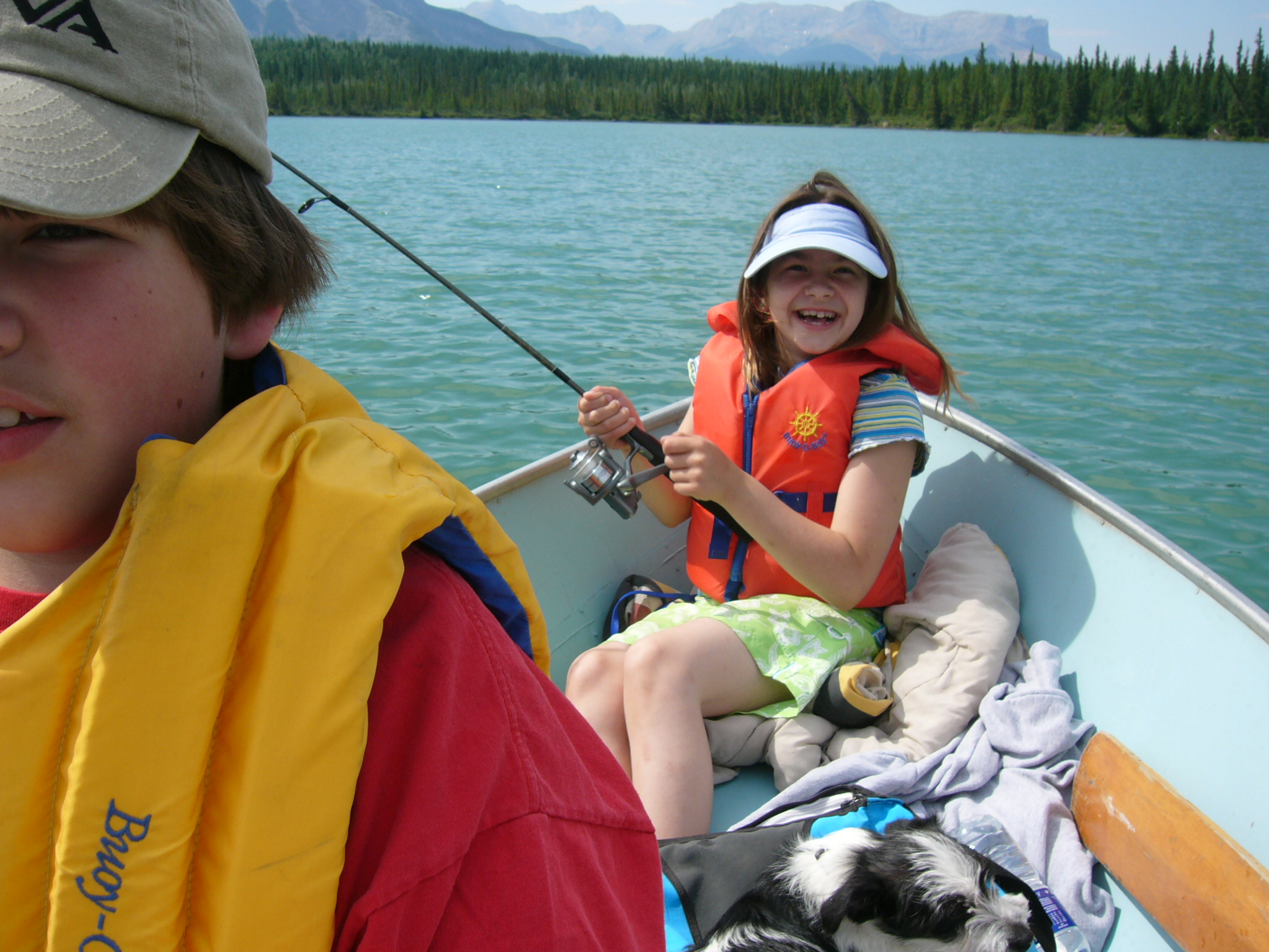 Fishing at Wildhorse Lake