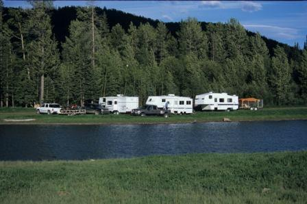 Photo of Camping - McLeod River